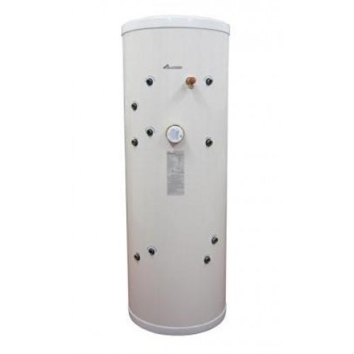 Unvented solar hot water cylinder